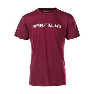 Virtus TUAH Printshirt Herren 4011 Burgundy