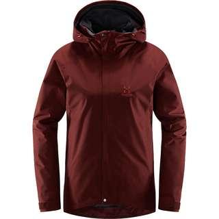 Haglöfs GORE-TEX® Stratus Jacket Hardshelljacke Damen Maroon Red