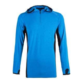 Endurance DAKER M WOOL HOODY Langarmshirt Herren 2059 Imperial Blue