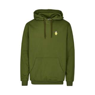 Cleptomanicx Hooded Zitrone Hoodie Herren Rifle Green