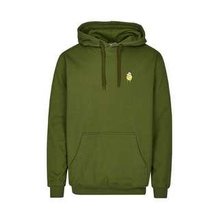 Cleptomanicx Hooded Zitrone Hoodie Herren Rifle Green
