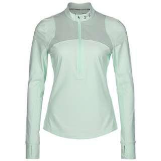 Under Armour Qualifier Half Zip Laufshirt Damen mint