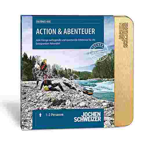 Jochen Schweizer Action & Abenteuer in edler Geschenkbox mehrfarbig