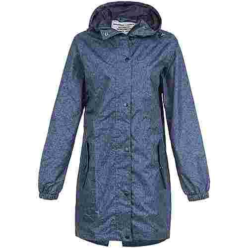 Weather Report ALESSA PRINTED RAIN JACKET Regenjacke Damen 1001 Black