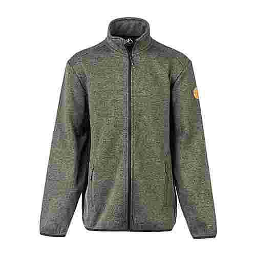 Whistler Sampton M Melange Fleece Jacket Fleecejacke Herren 3057 Climbing Ivy