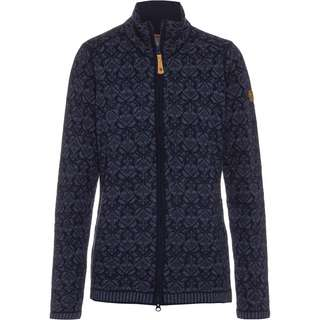 FJÄLLRÄVEN SNOW Strickjacke Damen Dark Navy
