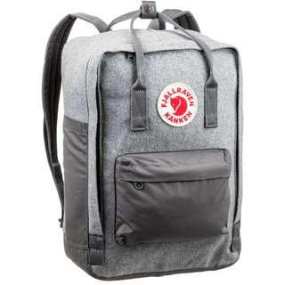 """FJÄLLRÄVEN Rucksack Kanken RE-Wool Laptop 15"""" Daypack granite grey"""