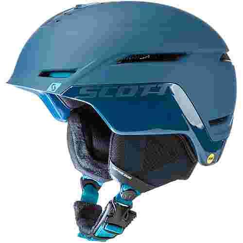 SCOTT Symbol 2 Plus Skihelm majolica blue-cyan blue