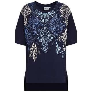 Finn Flare Printshirt Damen cosmic blue