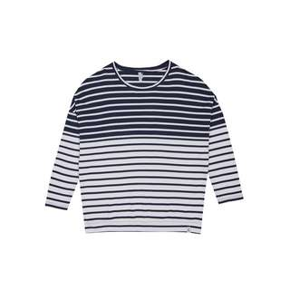 Cleptomanicx Horizons Sweatshirt Damen Dark Navy