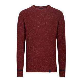 Colours & Sons Michael Strickpullover Herren rot