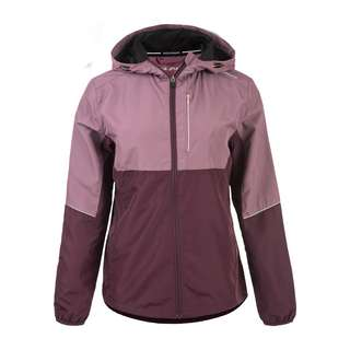 Endurance LASSIE W HOODY mit 360 Grad Reflektion Laufjacke Damen 4150 Purple Grape