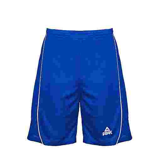Peak Basketball-Shorts Herren Blau-Weiß