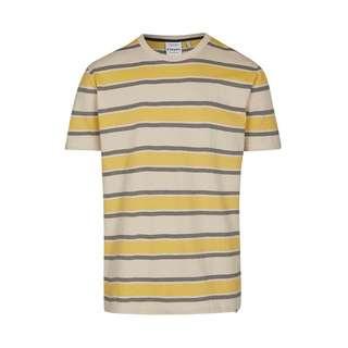 Cleptomanicx Those Days Printshirt Herren New Creme