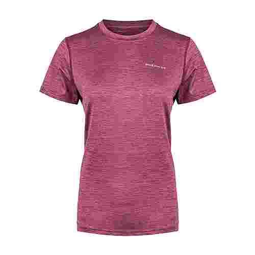 Endurance Maje Melange Printshirt Damen 4132 Tawny Port