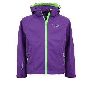 ZigZag Grand Lake W-PRO Softshelljacke Kinder 4002 Electric Purple