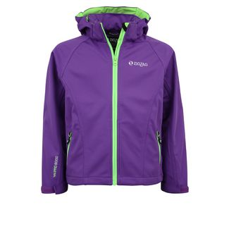 ZigZag Grand Lake W-PRO Softshelljacke Kinder 4002 Electric Purple