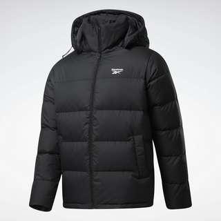 Reebok Core Short Down Jacket Outdoorjacke Herren Black / True Grey 8