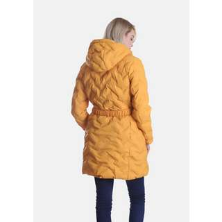 Dingy Weather mit Gürtel Steppjacke Damen cream karamell