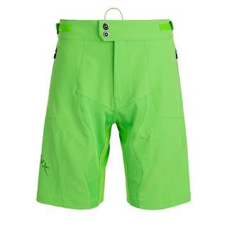 Endurance LEICHHARDT BIKE SHORT Shorts Herren 3087 Green Flash