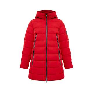 Finn Flare Steppmantel Damen red