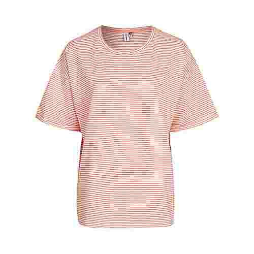 Cleptomanicx Kate T-Shirt Damen Strawberry