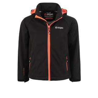 ZigZag Grand Lake W-PRO Softshelljacke Kinder 1001 Black