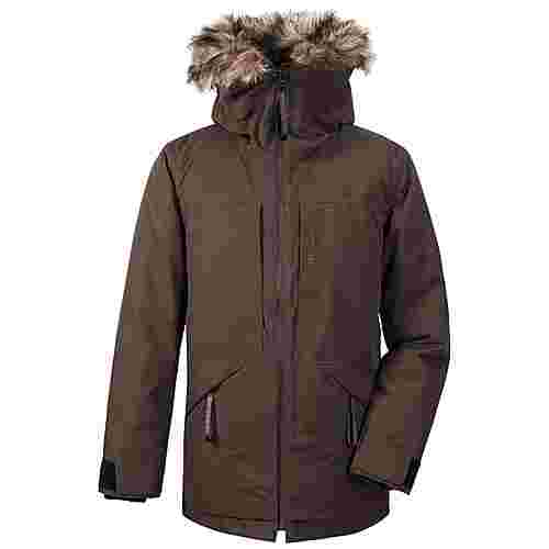 Didriksons LASSE Outdoorjacke Herren Coffe Brown