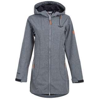 Weather Report LILAN W-PRO 8000 Softshelljacke Damen 1011 Dark Grey Melange