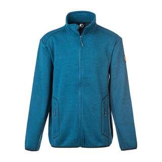 Whistler Sampton M Melange Fleece Jacket Fleecejacke Herren 2042 Majolica Blue