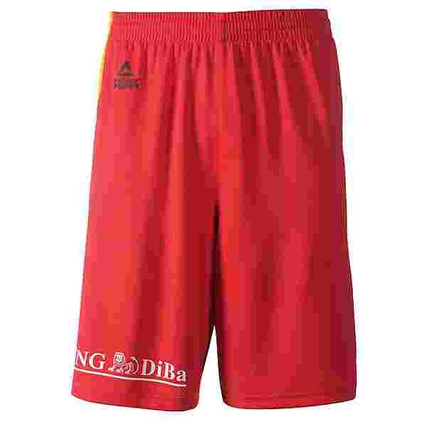 Peak Deutschland Basketball-Shorts Rot