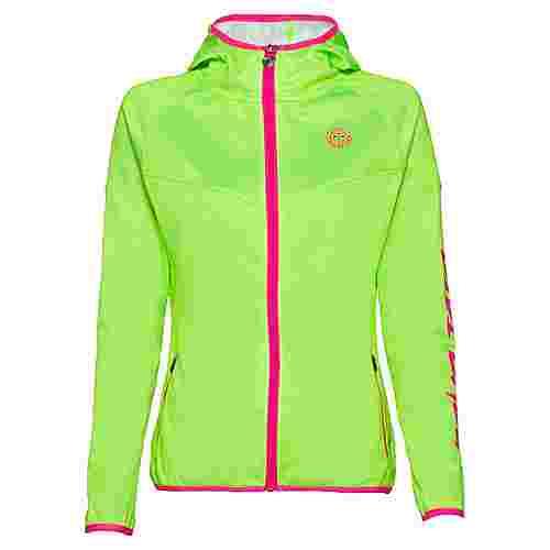 BIDI BADU Inga Tech Jacket Funktionsjacke Damen neongrün/pink