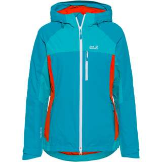 Jack Wolfskin EAGLE PEAK Funktionsjacke Damen dark cyan