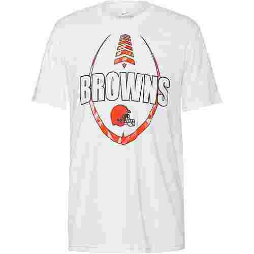 Nike Odell Beckham Jr.  Cleveland Browns Funktionsshirt Herren white