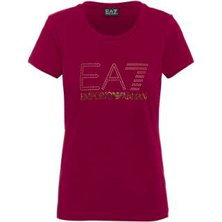 EA7 Emporio Armani T-Shirt Damen beet red