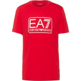 EA7 Emporio Armani Printshirt Herren tango red
