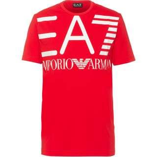 EA7 Emporio Armani T-Shirt Herren racing red