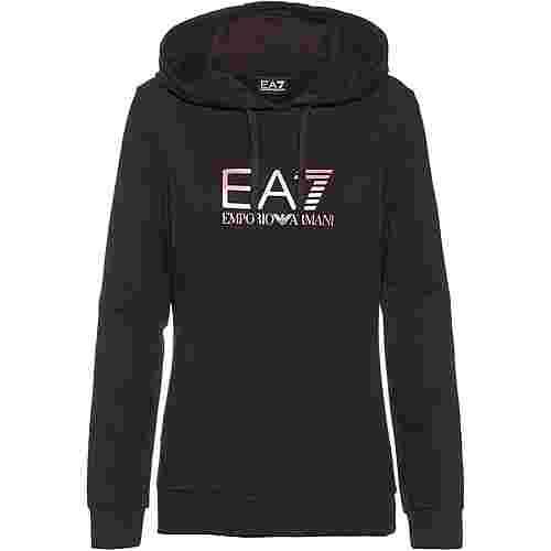 EA7 Emporio Armani Hoodie Damen black