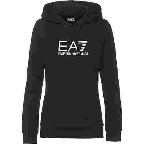 EA7 Emporio Armani Hoodie Damen schwarz