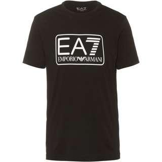 EA7 Emporio Armani Printshirt Herren black