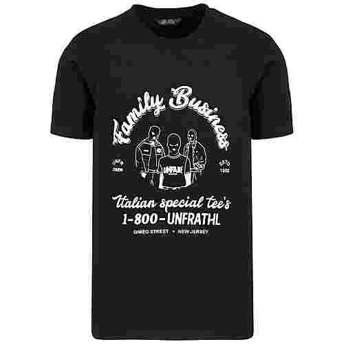 Unfair Athletics Family Business T-Shirt Herren schwarz / weiß