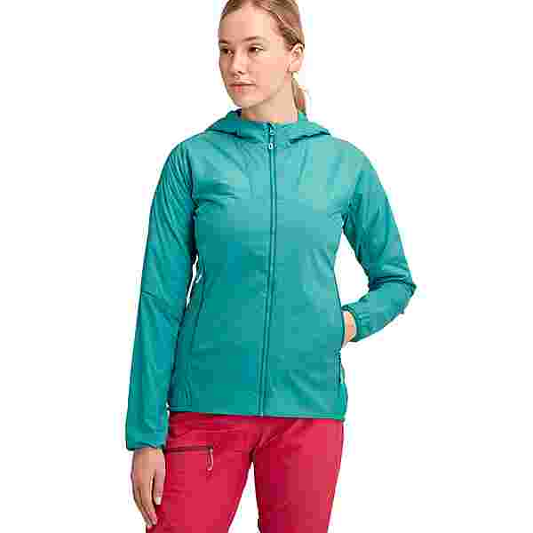 Mammut Rime Light Flex Hooded Kunstfaserjacke Damen dark ceramic