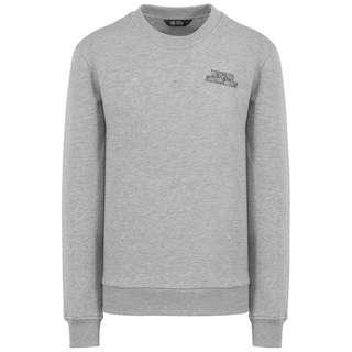 Unfair Athletics DMWU Typo Crewneck Sweatshirt Herren grau / schwarz