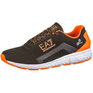 EA7 Emporio Armani Sneaker black-range fluo