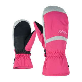 Ziener LEJANOS AS(R) MITTEN JUNIOR Outdoorhandschuhe Kinder pop pink