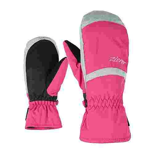 Ziener LEJANOS AS(R) MITTEN JUNIOR Outdoorhandschuhe Kinder pop pink