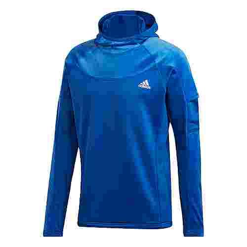 adidas Own the Run Warm Hoodie Hoodie Herren Blau