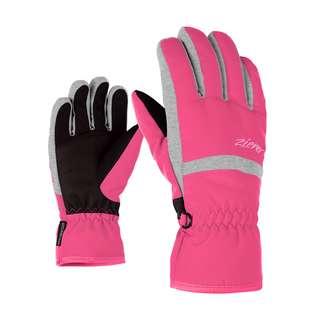 Ziener LEJANO AS(R) JUNIOR Skihandschuhe Kinder pop pink