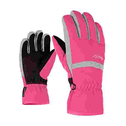Ziener LEJANO AS(R) JUNIOR Skihandschuhe Kinder pop pink