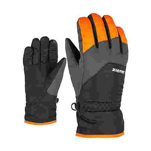 Ziener LANDO JUNIOR Skihandschuhe Kinder new orange